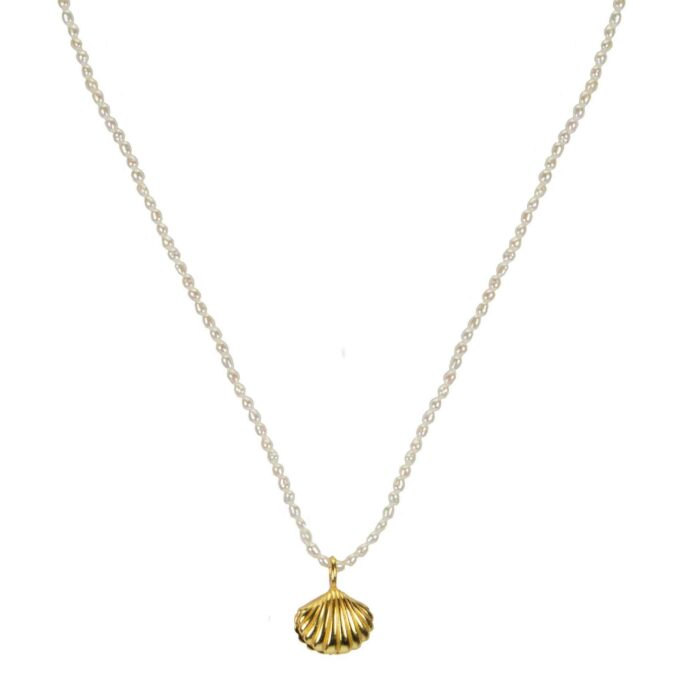 Hultquist Makara Necklace Gold S08007G