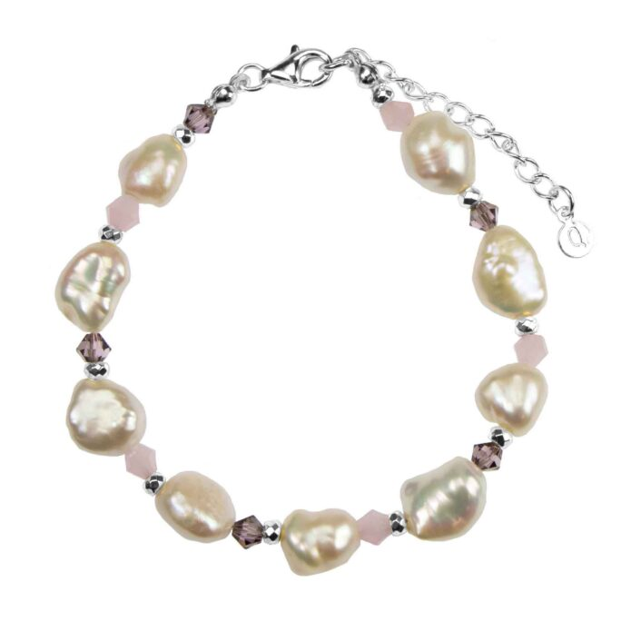 Hultquist Pearl Bracelet Silver S09004S