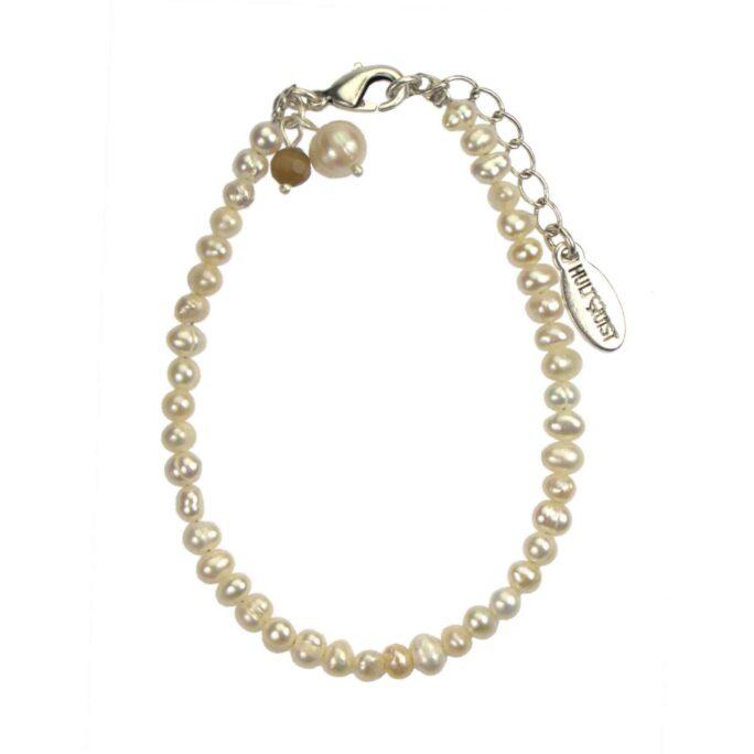 Hultquist Pearl Bracelet Silver 04557-S