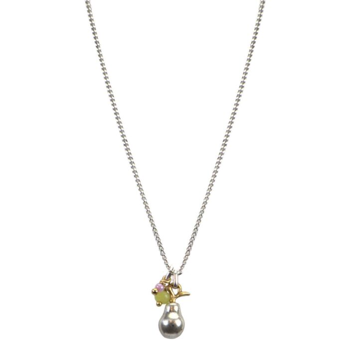Hultquist Pearl Necklace BiColour 04575-BI