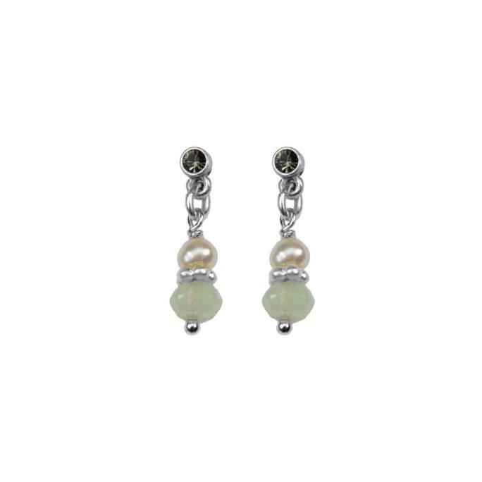 Hultquist Elegant Stud Earrings Silver 04595-S
