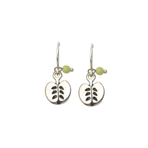 Hultquist Apple Hook Earrings Silver 04626-S