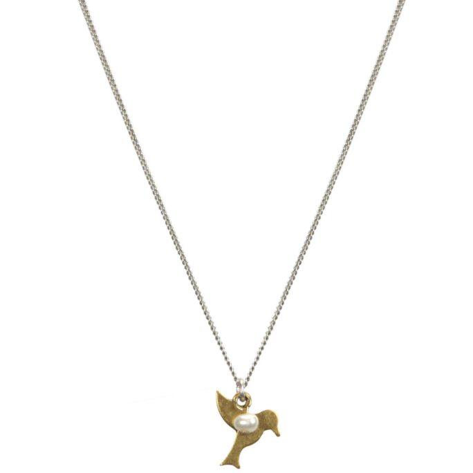 Hultquist Tropical Bird Necklace BiColour 04631-BI