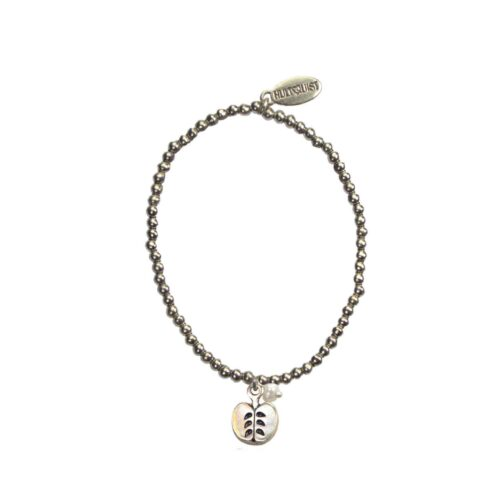 Hultquist Apple Charm Bracelet Silver 04636-S