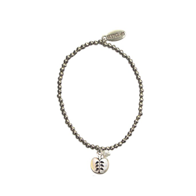 Hultquist Apple Charm Bracelet Silver 04636-S