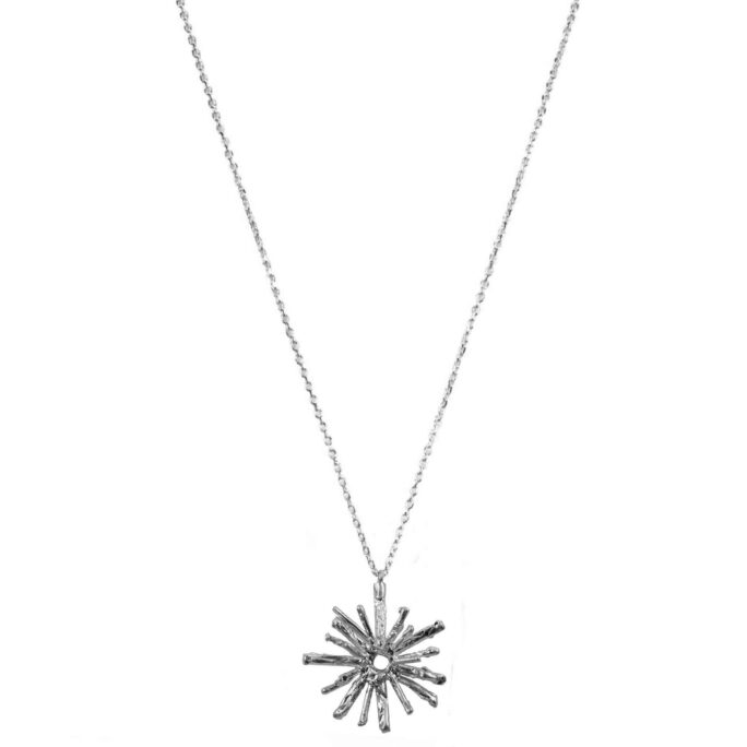 Hultquist Solar Necklace Silver 61030-S