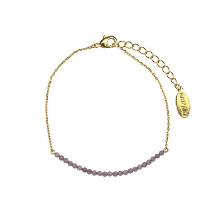 Hultquist Amethyst Bracelet Gold 61039-G