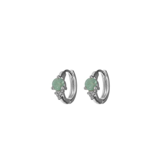 Hultquist Arame Hoop Earrings Silver 61042-S
