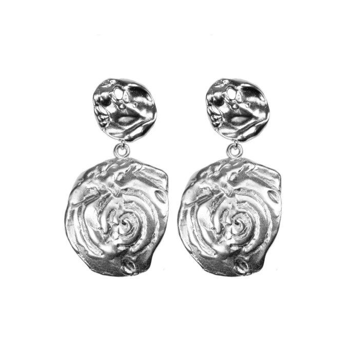Hultquist Organic Love Earrings Silver 61043-S