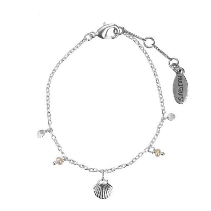 Hultquist Shell Bracelet Silver 66003-S