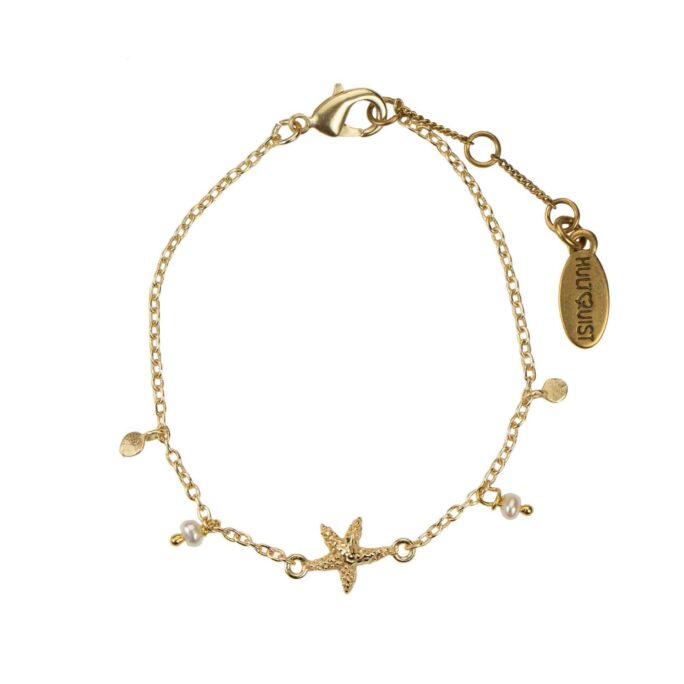 Hultquist Starfish Bracelet Gold 66006G