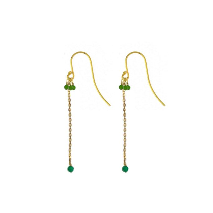 Hultquist Thalassa Earrings Gold 66008G