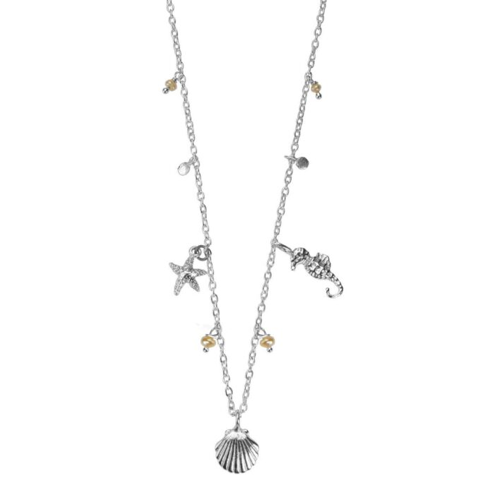 Hultquist Under The Sea Necklace Silver 66010-S