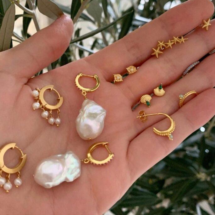 Earrings - Semi Precious