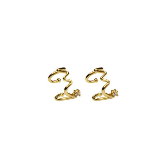 Hultquist Ula Ear Cuffs Gold S05036G