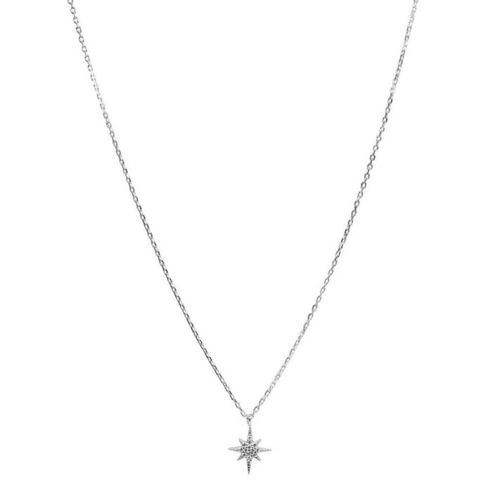 Hultquist Northernn Star Necklace Sterling Silver S05043S