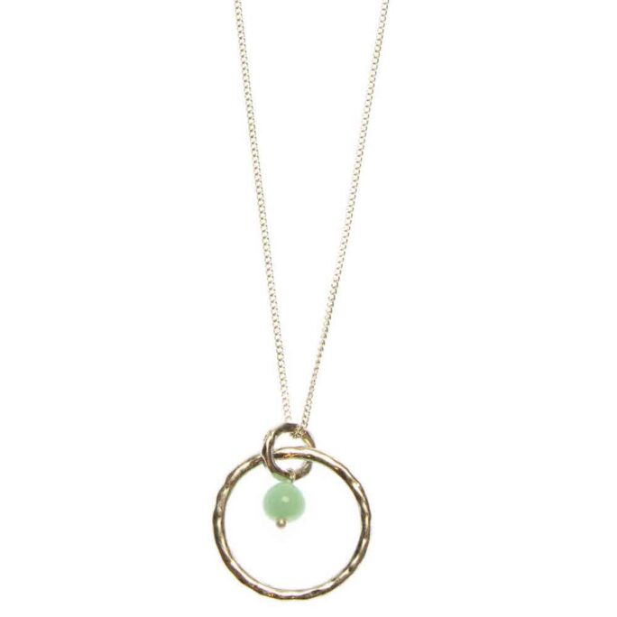 Hultquist Circle Necklace Silver 04746S