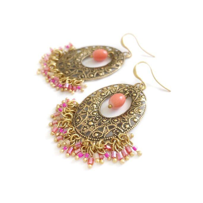Hultquist Boho Journey Earrings Gold 392446G-P